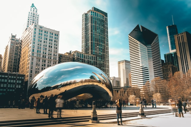 Cool Picture of Chicago Bean